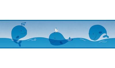 Bordüre »Ocean Friends«, für Baby -  und Kinderzimmer, selbstklebend, PVC - frei kaufen