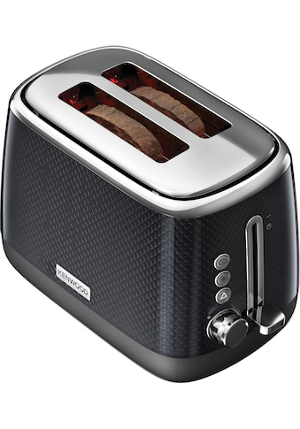 KENWOOD Toaster »Mesmerine TCM811.BK«, für 2 Scheiben, 1000 Watt kaufen
