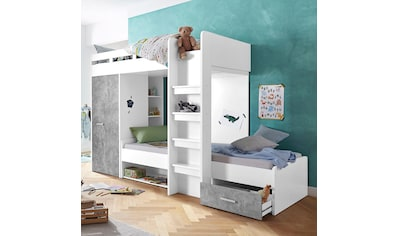 Etagenbett Mit Schrank Und Schreibtisch : Kinderhochbetten online auf rechnung kaufen baur