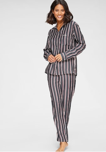 Marc O'Polo Pyjama, in klassischer Form mit Längsstreifen kaufen