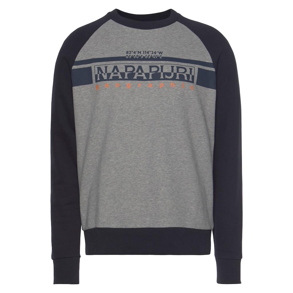 Napapijri Sweatshirt »BRILO C«, mit markantem Logoprint