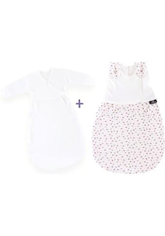 Träumeland Babyschlafsack »Set Herz rosa«, (Packung, 3 tlg., 3er-Pack) kaufen