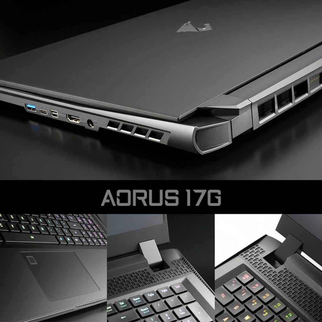"Gigabyte Gaming-Notebook »YD-73DE345SH«, (43,94 cm/17,3 "" Intel Core i7 GeForce RTX 3080\r\n 512 GB SSD), Kostenloses Upgrade auf Windows 11, sobald verfügbar"