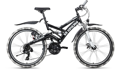 KS Cycling Mountainbike »Crusher«, 21 Gang, Shimano, Tourney Schaltwerk, Kettenschaltung kaufen