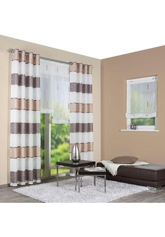 Vorhang, »TALWER«, HOME WOHNIDEEN, Ösen 1 Stück kaufen