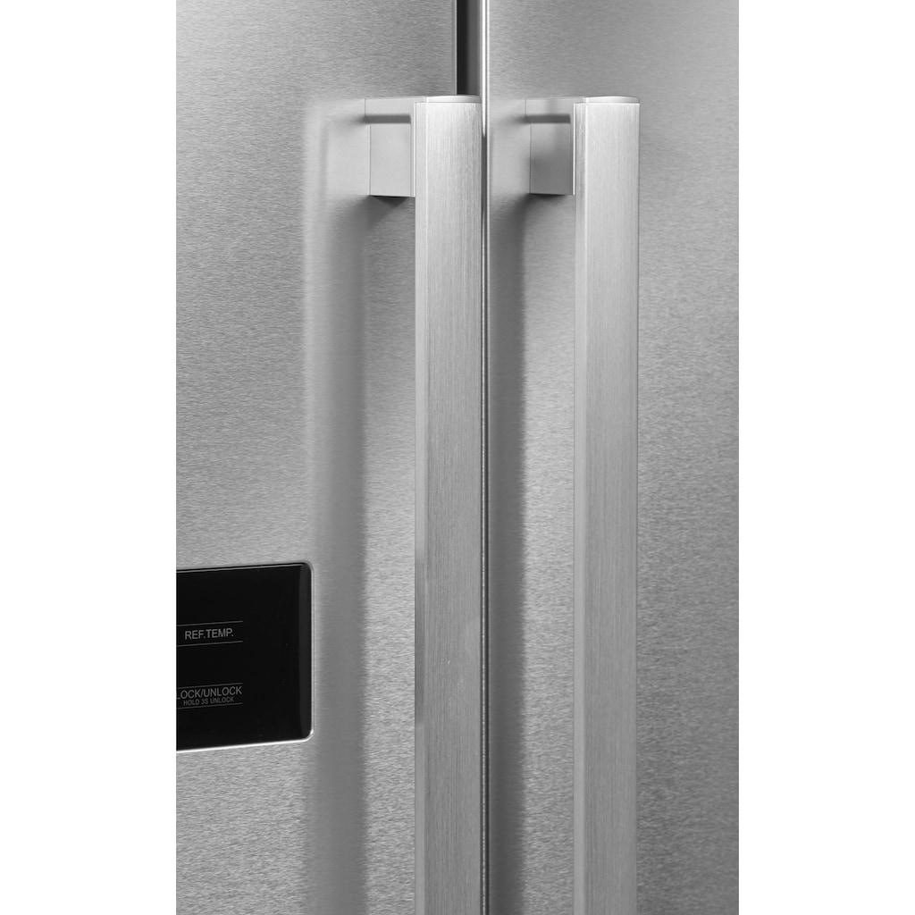 Hanseatic Side-by-Side »HSBS17990F«, HSBS17990FI, 176,5 cm hoch, 89,7 cm breit