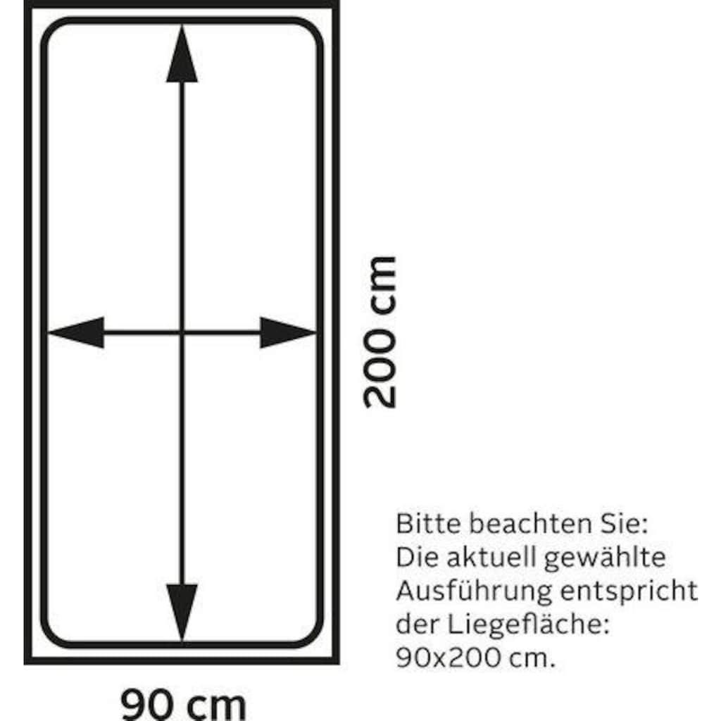 Lüttenhütt Etagenbett »Alpi«, aus schönem massivem Kiefernholz, Stockbett, Liegeflächenlänge 200 cm