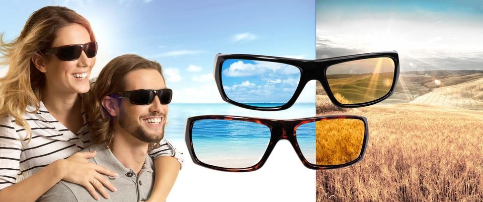Polaryte HD® Sonnenbrille (Set, 2er Set)   Accessoires > Sonnenbrillen > Sonstige Sonnenbrillen   Schwarz   Tv   POLARYTE