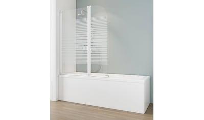 SCHULTE Badewannenfaltwand »Wega«, 2 - tlg., teilgerahmt, BxH: 114 x 140 cm kaufen
