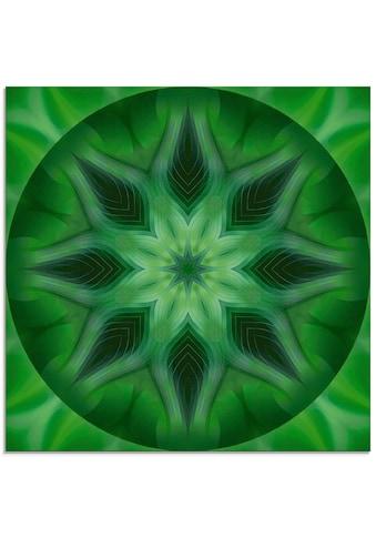 Artland Glasbild »Mandala Natur«, Muster, (1 St.) kaufen