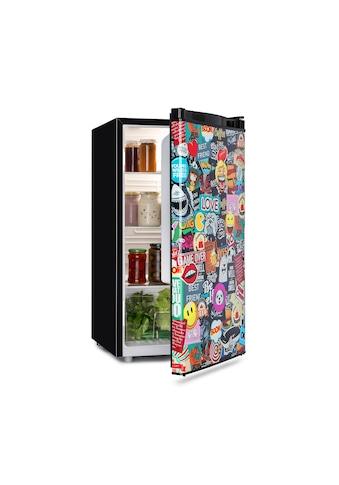 Klarstein Cool Vibe Kühlschrank 90 Liter VividArt Concept kaufen