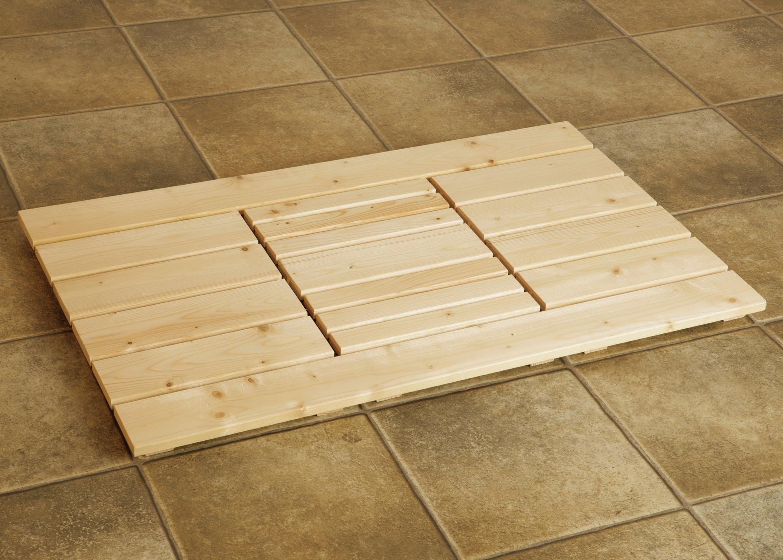 WEKA Saunabodenrost, BxL: 62x105 cm   Bad > Sauna & Zubehör > Sauna-Zubehör   Natur   WEKA