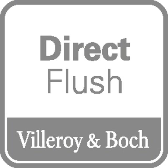 VILLEROY & BOCH Tiefspül-WC »O.novo Vita«, wandhängend mit DirectFlush, Weiß Alpin