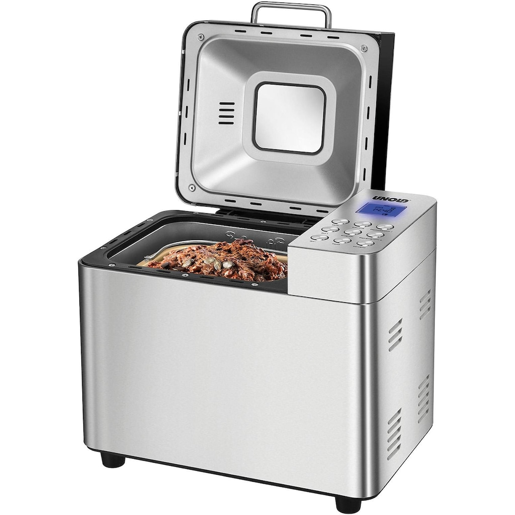 Unold Brotbackautomat »Backmeister Edel 68456«, 16 Programme, 550 W, bis zu 1.000 g Brotgewicht