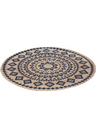 LUXOR living Teppich »Mamda«, rund, 4 mm Höhe, Naturfaser, In- und Outdoor geeignet,... kaufen