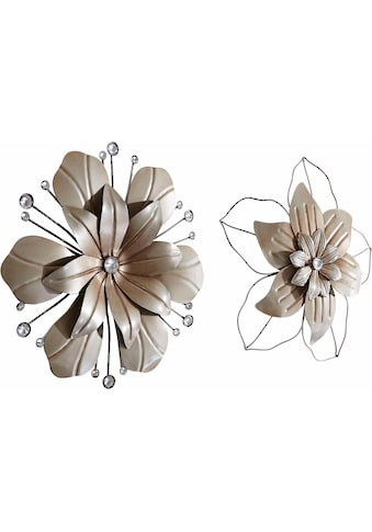 Wanddekoobjekt »Wanddeko Blüte« (2er - Set) kaufen