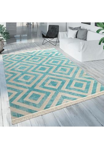 Teppich, »Poco 821«, Paco Home, rechteckig, Höhe 7 mm, maschinell gewebt kaufen