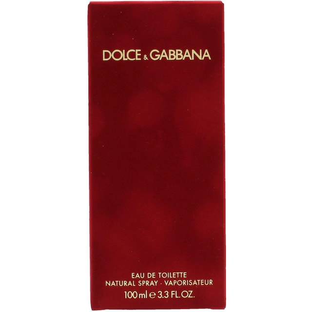 """DOLCE & GABBANA Eau de Toilette """"Pour Femme"""""""