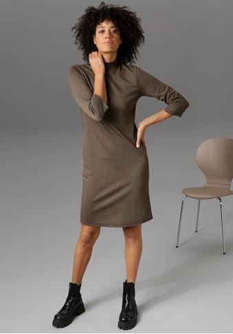 Aniston CASUAL Jerseykleid, mit Hahnentritt-Muster - NEUE KOLLEKTION kaufen