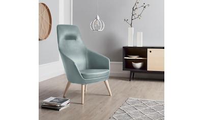 andas Stuhl »Rina«, mit Füßen aus massiver Esche, natur-oder wallnussfarben lackiert kaufen