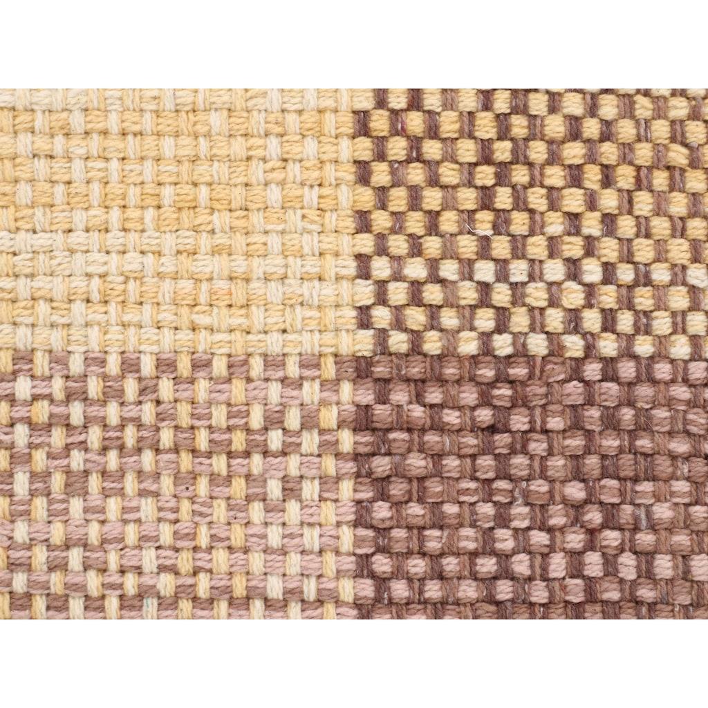 carpetfine Läufer »Kelim Ella«, rechteckig, 5 mm Höhe, Wendeteppich