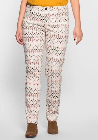 Sheego 5-Pocket-Hose, ; kaufen