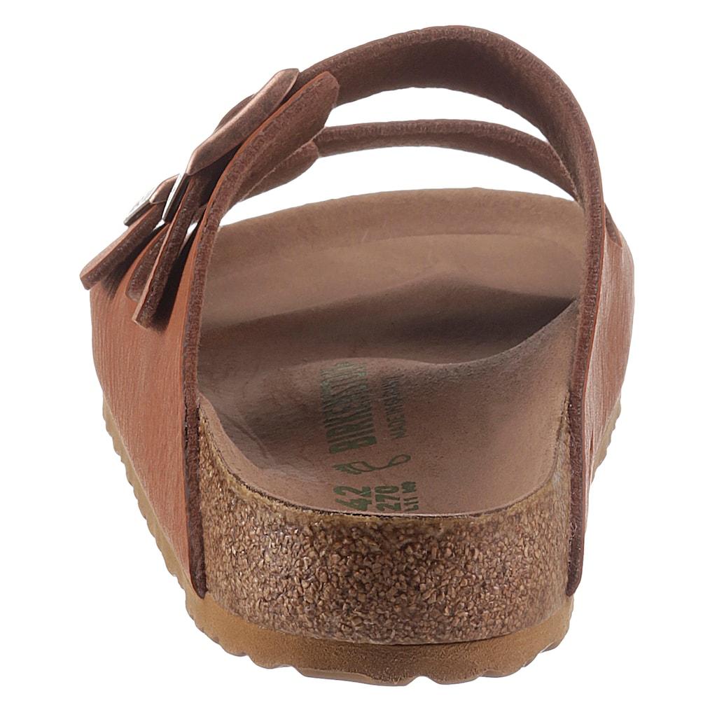 Birkenstock Pantolette »Arizona Saddle Matt«, mit verstellbaren Schließen