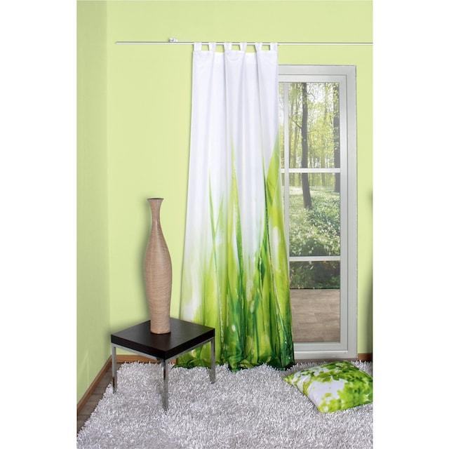 Vorhang, »PLYMOUTH«, HOME WOHNIDEEN, Schlaufen 1 Stück