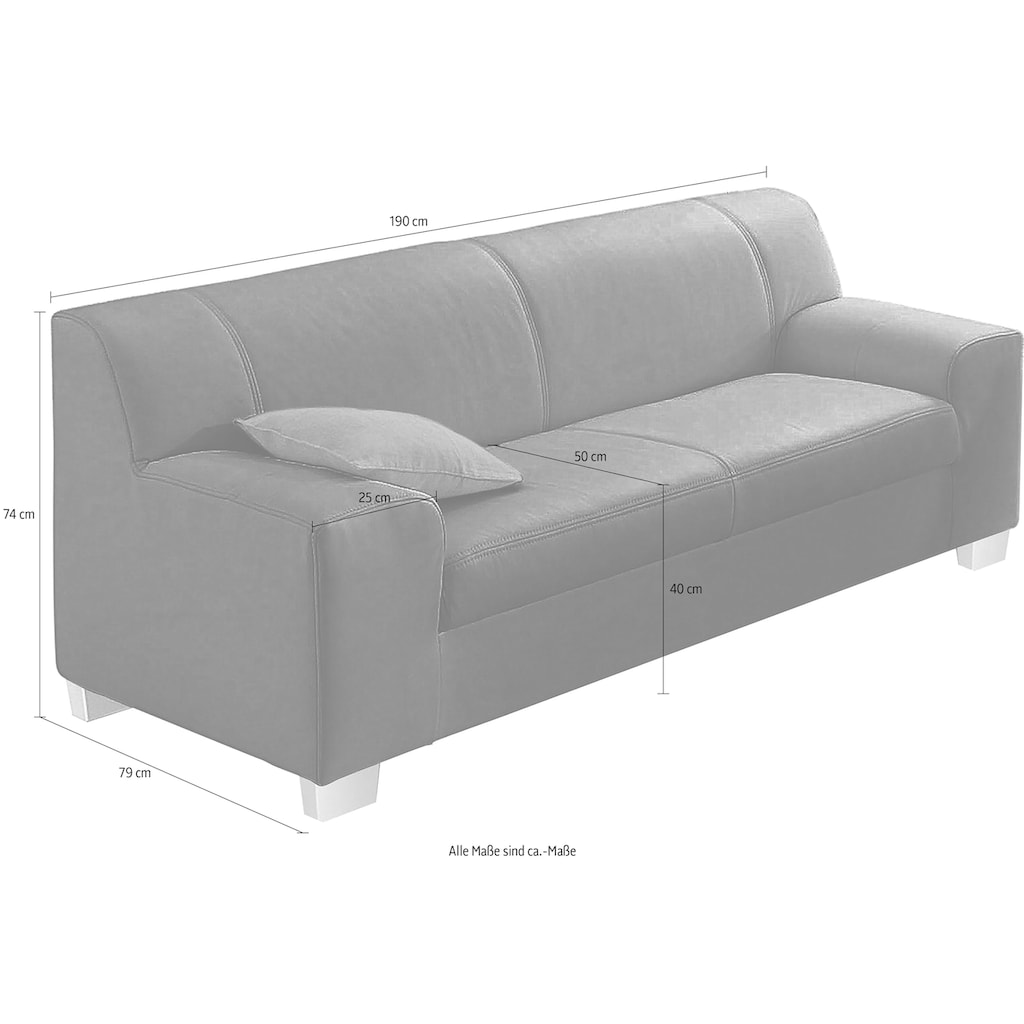 DOMO collection 3-Sitzer