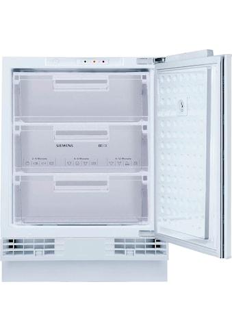 SIEMENS Einbaugefrierschrank »GU15DADF0«, iQ500, GU15DADF0, 82 cm hoch, 59,8 cm breit kaufen
