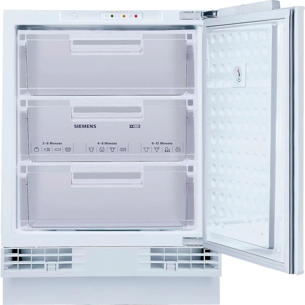 SIEMENS Einbaugefrierschrank »GU15DADF0«, iQ500, 82 cm hoch, 59,8 cm breit