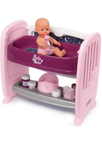 """Smoby Puppenbett """"Baby Nurse Puppen - Beistellbett"""" kaufen"""