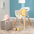 roba® Hochstuhl »Style Up Wood«, zum Kinderstuhl umbaubar