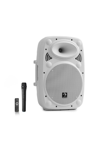 "Auna Streetstar 10 Mobile PA-Anlage 10"" (25,5 cm) UHF-Mikro 400 »Sky2-199.517« kaufen"