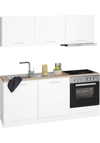 HELD MÖBEL Küchenzeile »Visby«, mit E-Geräten, Breite 180 cm kaufen