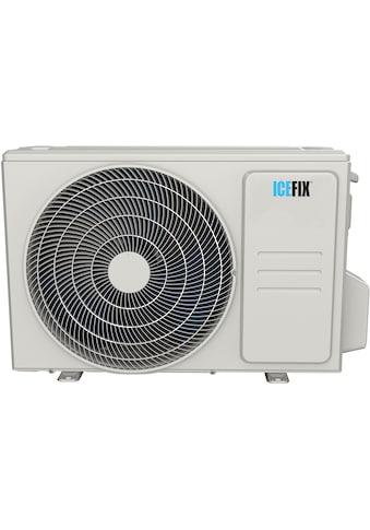ICEFIX Split-Klimagerät »1600 IU / 1600 OU«, bestehend aus Innen- und Außeneinheit... kaufen