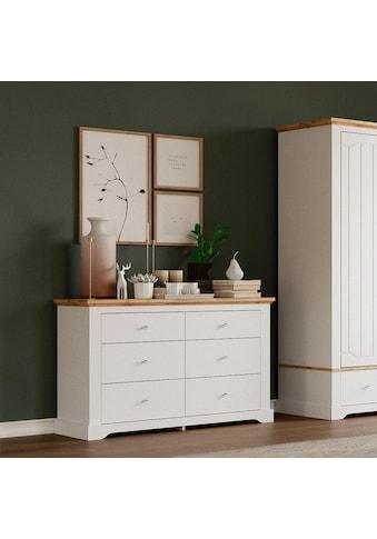 Home affaire Kommode »Teverton«, mit 6 Schubladen kaufen