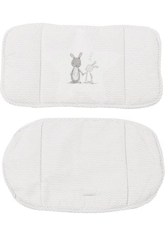 """roba® Kinder - Sitzauflage """"(1852V) Dekor (168) Fox und Bunny"""", (2 - tlg.) kaufen"""