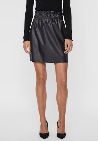 Vero Moda Lederimitatrock »VMGWEN RILEY« kaufen