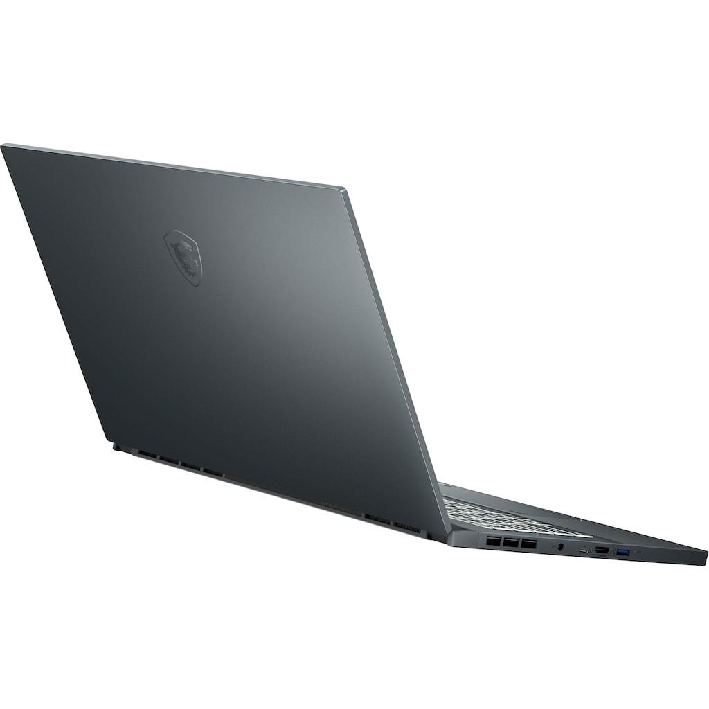"MSI Notebook »Creator 15 A10UGT-470«, (39,6 cm/15,6 "" Intel Core i7 GeForce RTX 3070\r\n 1000 GB SSD), Kostenloses Upgrade auf Windows 11, sobald verfügbar"