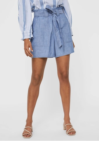 Vero Moda Shorts »VMAKELA HR CHAMBRAY PAPERBAG« kaufen