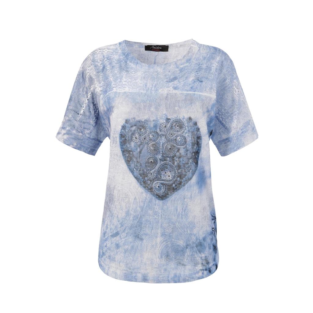 Aniston CASUAL T-Shirt, mit Lochstickerei