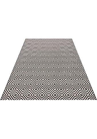 bougari Teppich »Karo«, rechteckig, 8 mm Höhe, Flachgewebe, In- und Outdoor geeignet,... kaufen