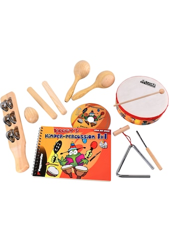 """Voggenreiter Spielzeug - Musikinstrument """"Voggys Percussion"""", (Set, 8 - tlg.) kaufen"""