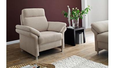 DELAVITA Sessel »Mailand«, mit komfortablem Federkern-Sitz, wahlweise mit Move-Funktion kaufen