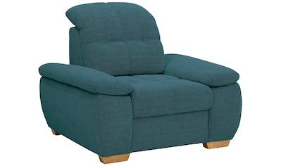 Home affaire Sessel »Lotus Home Luxus«, wahlweise mit Kopfteilverstellung und Aqua... kaufen