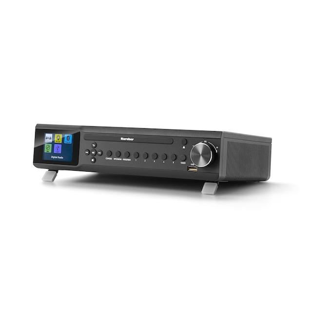 Karcher Küchenradio (CD-Player, DAB+ Radio, Bluetooth) »RA 2060D-B«