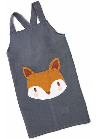 ThreadBear Kochschürze »Fuchs«, Kinderschürze aus Leinen kaufen