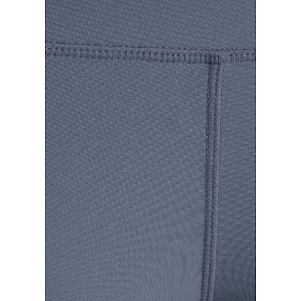 LASCANA ACTIVE Leggings, mit Teilungsnähte