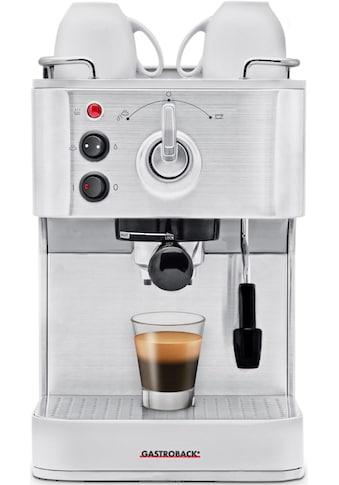 Gastroback Siebträgermaschine »Design Espresso Plus 42606« kaufen